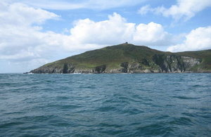 Rame head from the sea