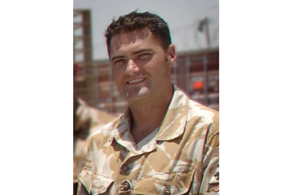 Major Sean Birchall (All rights reserved.)