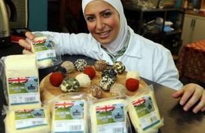 Razan from Yorkshire Dama Cheese
