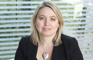 Minister for Modern Slavery and Organised Crime Karen Bradley