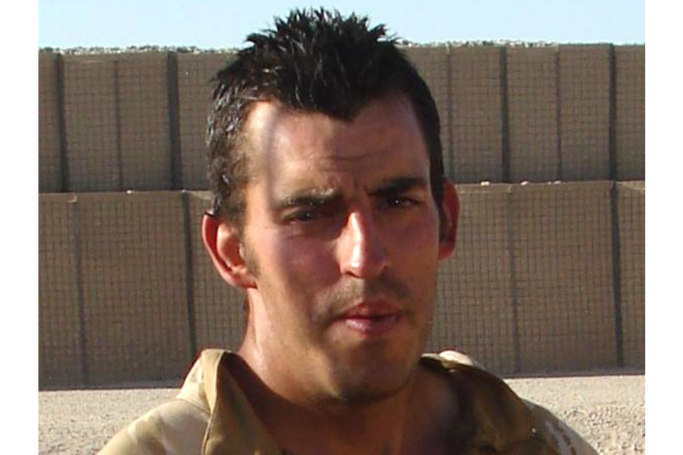 Lance Corporal Nigel Moffet (All rights reserved.)
