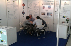 NMO at InterWeighing 2014 held in Dongguan