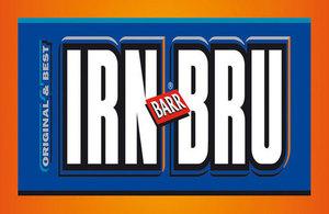Image of IRN-BRU logo.