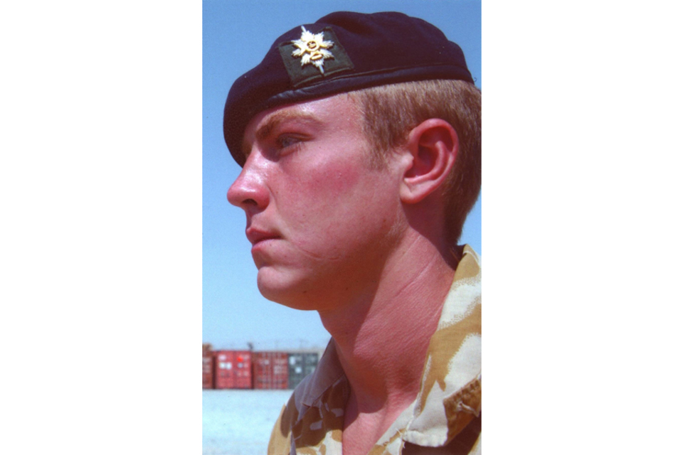 Lance Corporal Kieron Hill (All rights reserved.)