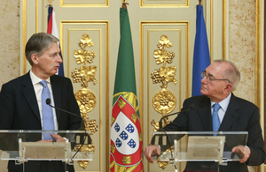 Foreign Secretary Philip Hammond MP visits Portugal