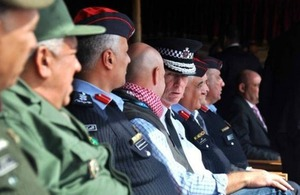 Commissioner of the Metropolitan Police, Sir Bernard Hogan-Howe visits Jordan