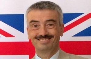 Former British Ambassador Peter Millett