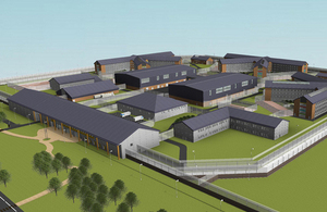 North Wrexham prison plans in 3D