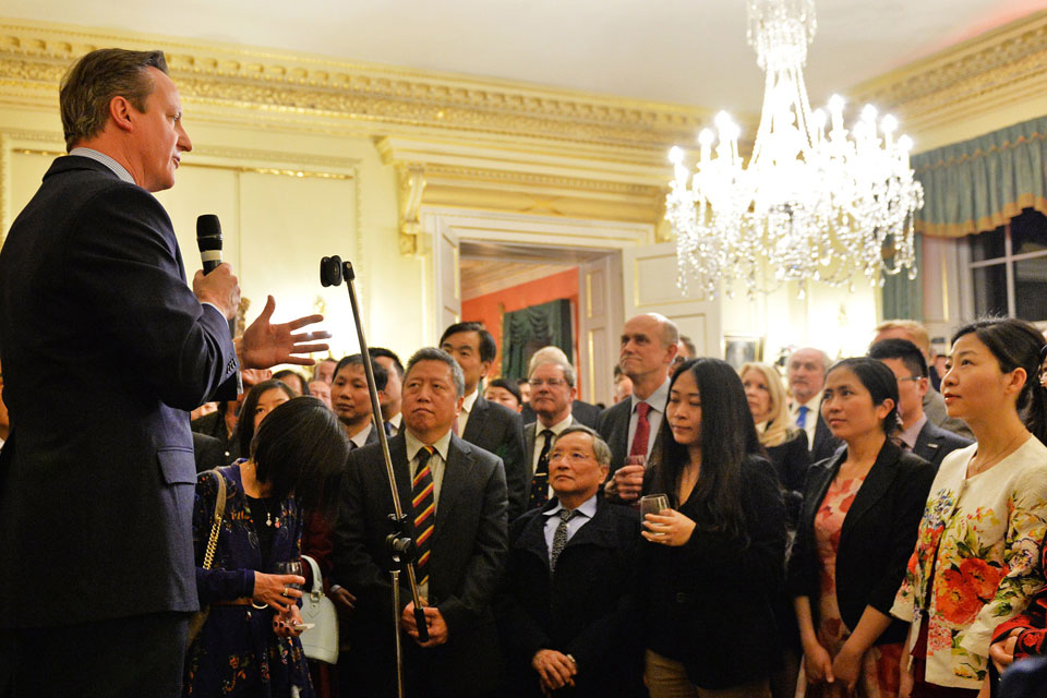 PM gives speech at Chinese New Year reception at Number 10
