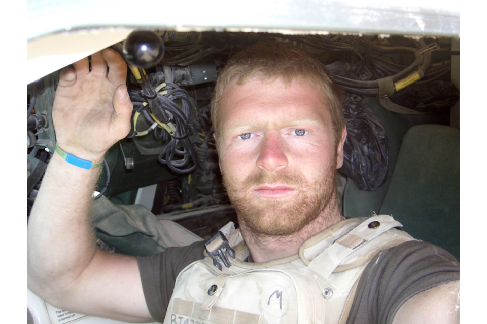 Lance Corporal Robert Richards (All rights reserved.)