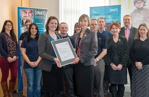 STEMNET award to Dstl