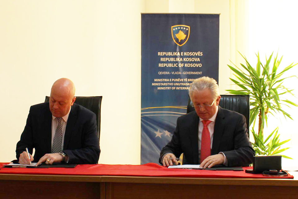 Ministry of Internal Affairs and National Crime Agency signed a Memorandum of Understanding to cooperate in the fight against organised crime