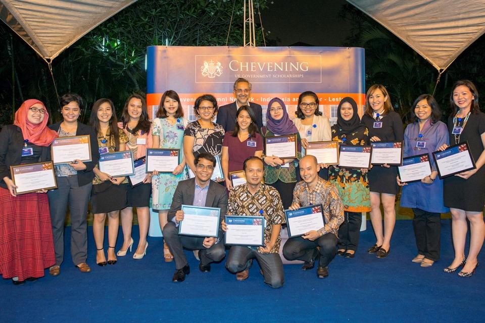 Chevening Scholars 2013/14