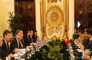 UK- Vietnam Strategic Dialogue in Hanoi on 27 February 2015