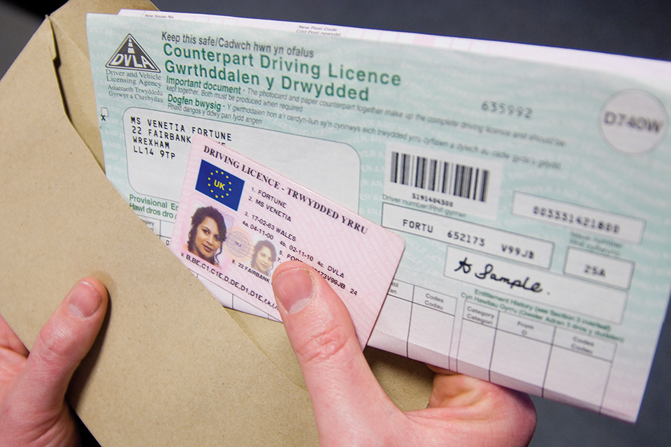 Need help with paper driving license