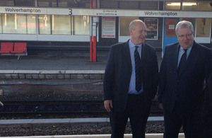 Transport Secretary visits Wolverhampton