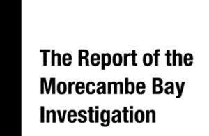 Morecambe Bay report