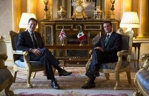 Nick Clegg meets President Enrique Peña Nieto