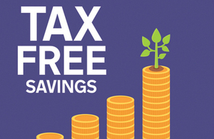 Tax free Savings poster