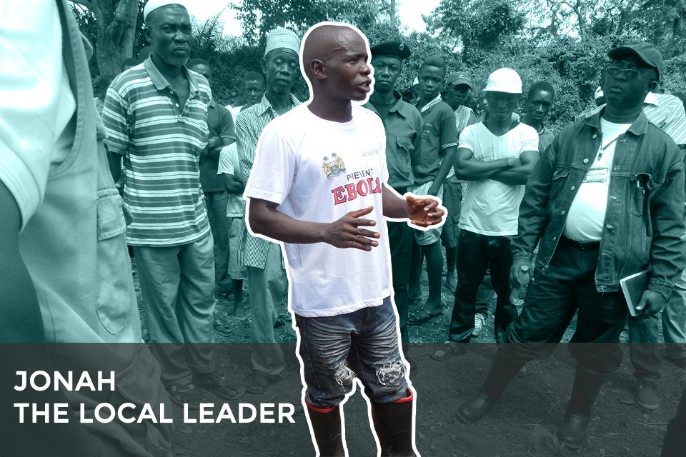 Jonah - the local leader.