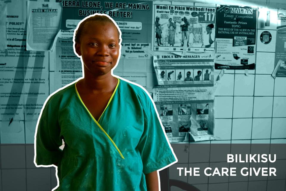 Bilikisu - the care giver.
