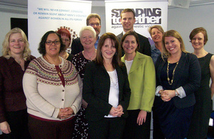 Lynne Featherstone tri-borough visit