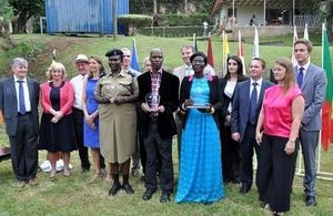 EU HRD Award 2015 recipients