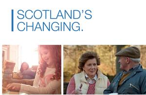 Scotland's changing information leaflet