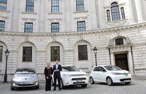 Transport Minister Baroness Kramer and Business Minister Matthew Hancock
