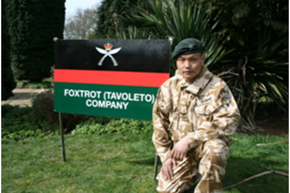 Corporal Kumar Pun of 1st Battalion The Royal Gurkha Rifles (All rights reserved.)