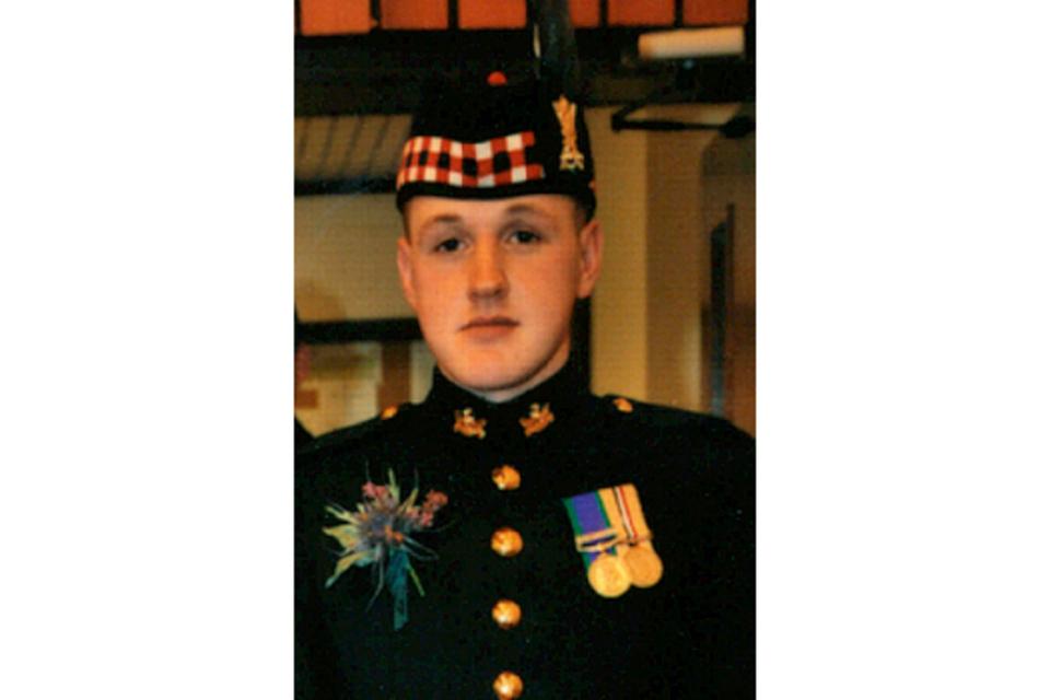 Sergeant Sean Connor Binnie (All rights reserved.)
