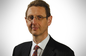 Image of Dr Ian Hudson, Chief Executive of the Medicines and Healthcare Products Agency