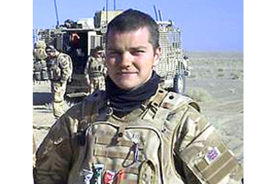 Corporal Dean Thomas John (All rights reserved.)