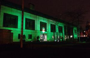The British Embassy in Dublin