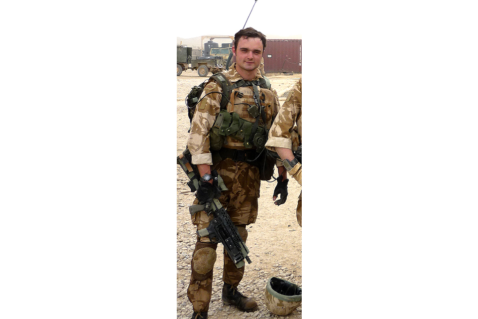 Marine Michael 'Mick' Laski (All rights reserved.)
