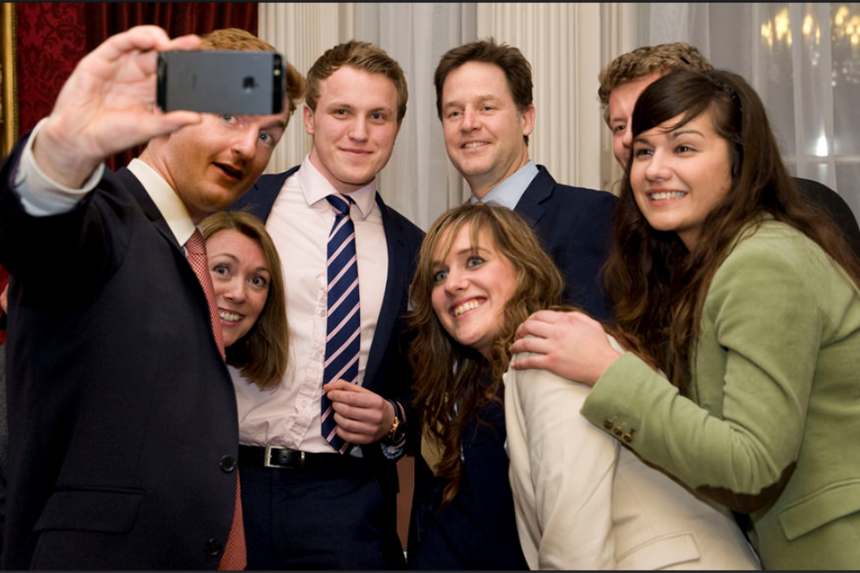 Deputy Prime Minister Nick Clegg held a reception at Admiralty House to celebrate National Apprenticeship Week.