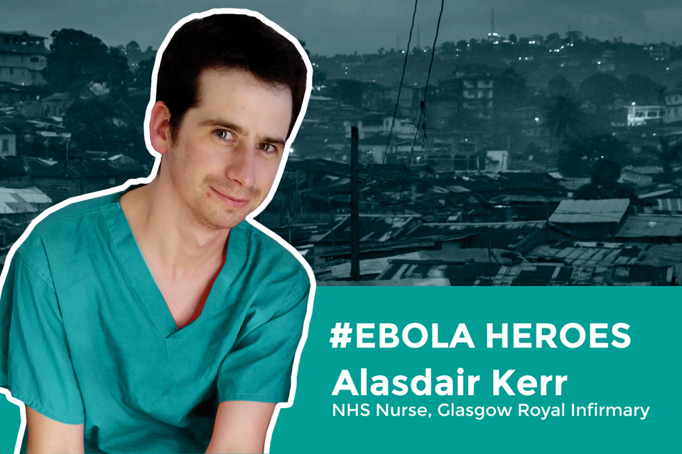 Image - a graphic of NHS worker Alasdair Kerr