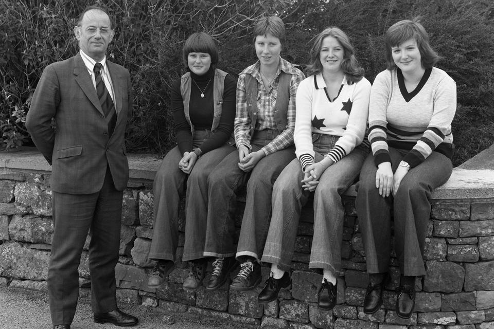 Sellafield apprentices 1977