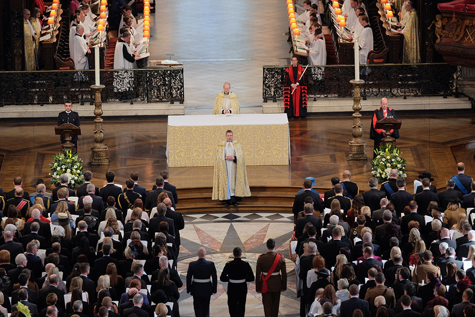 Afghanistan Service of Commemoration at St Paul's London