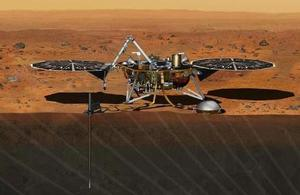 Artist's impression of InSight.