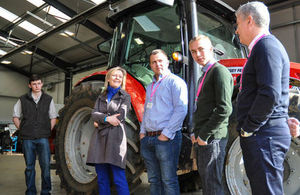 Elizabeth Truss meets apprentices at Easton and Otley College