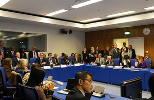 UK side event on New Psychoactive Substances at UNODC conference, Vienna, Austria