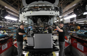 Vehicle production line (c) Nissan UK