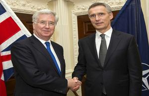 Fallon and NATO SecGen