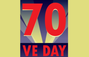 VE Day 70 logo