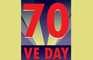 VE Day 70 logo