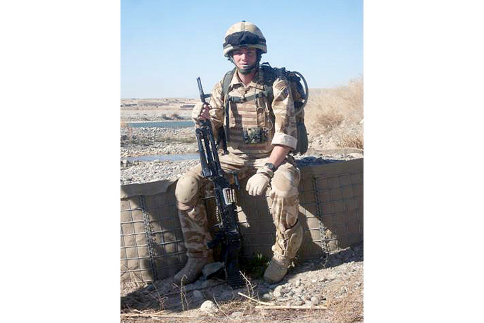 Marine Travis Mackin (All rights reserved.)