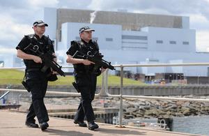 CNC officers on patrol