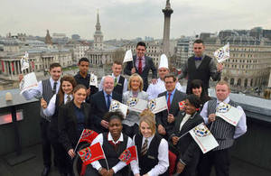 English Tourism week apprentices