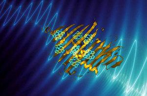 spinning molecule